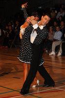 Manuel Favilla & Victoria Burke at International Championships 2011