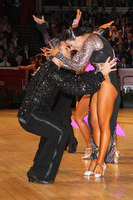 Manuel Favilla & Victoria Burke at International Championships 2011