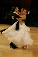 Benedetto Ferruggia & Claudia Köhler at UK Open 2008