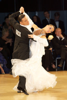 Benedetto Ferruggia & Claudia Köhler at UK Open 2009
