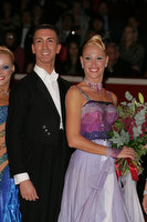 Andrea Ghigiarelli & Sara Andracchio at The International Championships