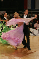 Andrea Ghigiarelli &amp; Sara Andracchio at Austrian Open 2008