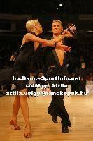 Jesper Birkehoj & Anna Anastasiya Kravchenko at Lithuanian Open 2007