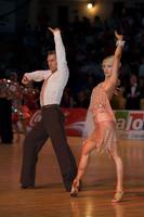 Jesper Birkehoj & Anna Anastasiya Kravchenko at Dance Olympiad 2008