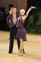 Jesper Birkehoj &amp; Anna Anastasiya Kravchenko at UK Open 2010