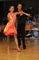 Ivan Bocharov & Josefina Ortova at Hungarian Open 2008
