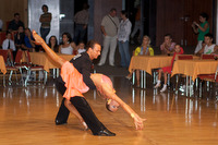 Ivan Bocharov &amp; Josefina Ortova at Hungarian Open 2008