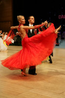 Nikolai Darin & Ekaterina Fedotkina at UK Open 2008