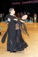 Daniele Gallaro & Kimberly Taylor at UK Open 2009