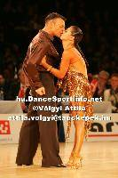 Eugene Katsevman & Maria Manusova at Lithuanian Open 2007