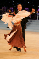 Marek Kosaty & Paulina Glazik at UK Open 2008