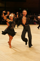 Alex Ivanets & Lisa Bellinger-Ivanets at UK Open 2008