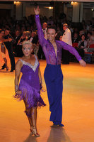 Alex Ivanets & Lisa Bellinger-Ivanets at Blackpool Dance Festival 2010