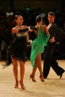 Alex Wei Wang & Roxie Jin Chen at UK Open 2008