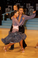 Alex Wei Wang & Roxie Jin Chen at UK Open 2009