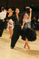 Alex Wei Wang & Roxie Jin Chen at UK Open 2010