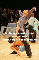 Sarunas Greblikas & Viktoria Horeva at Lithuanian Open 2007
