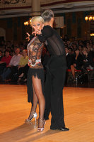 Sarunas Greblikas &amp; Viktoria Horeva at Blackpool Dance Festival 2010