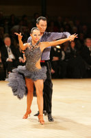 Sergey Sourkov & Agnieszka Melnicka at UK Open 2008