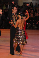 Sergey Sourkov & Agnieszka Melnicka at Blackpool Dance Festival 2010