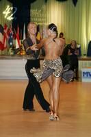 Kamil Studenny & Kateryna Trubina at Savaria 2007