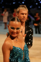 Kamil Studenny & Kateryna Trubina at UK Open 2008