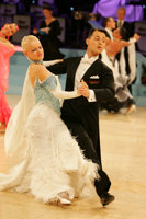 Oscar Pedrinelli & Kamila Brozovska at UK Open 2008