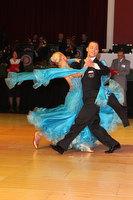 Oscar Pedrinelli & Kamila Brozovska at Blackpool Dance Festival 2010