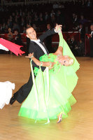 Mark Elsbury & Olga Elsbury at International Championships 2011