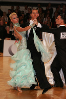 Mark Elsbury & Olga Elsbury at Austrian Open 2008