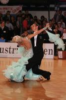Mark Elsbury & Olga Elsbury at Austrian Open Championshuips 2008