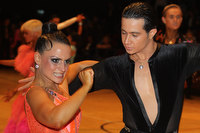 Andrea Silvestri & Martina Váradi at The International Championships