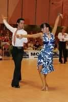 Andrea Silvestri & Martina Váradi at Savaria 2007