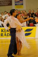 Andrea Silvestri & Martina Váradi at Hungarian Amateur Latin Championship 2007