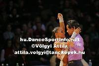 Andrea Silvestri &amp; Martina Vradi at Lithuanian Open 2007