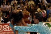 Andrea Silvestri & Martina Váradi at Dance Olympiad 2008