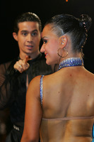 Andrea Silvestri & Martina Váradi at Austrian Open Championshuips 2008