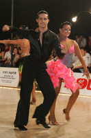 Andrea Silvestri &amp; Martina Vradi at 8th Kistelek Open