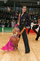 Andrea Silvestri &amp; Martina Vradi at World Amateur Latin Championships