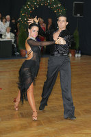 Andrea Silvestri &amp; Martina Vradi at Hungarian Amateur Latin and Standard Championships