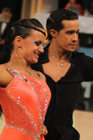 Andrea Silvestri & Martina Váradi at Youth-Adult Latin Ranking Tournament