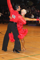 David Byrnes &amp; Karla Gerbes at The International Championships