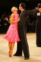 David Byrnes & Karla Gerbes at UK Open 2008