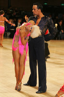 David Byrnes & Karla Gerbes at UK Open 2010