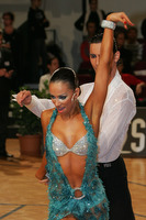 Raimondo Todaro & Francesca Tocca at Austrian Open 2008