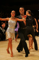 Emanuele Soldi &amp; Elisa Nasato at UK Open 2008