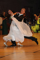 Michael Glikman &amp; Milana Deitch at International Championships 2011
