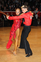 Kirill Belorukov & Elvira Skrylnikova at The International Championships
