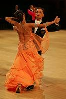 Mauro Favaro & Angelina Shabulina at UK Open 2008