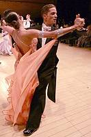 Mauro Favaro &amp; Angelina Shabulina at UK Open 2008